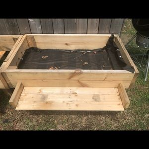 Elevated homemade Garden bed!